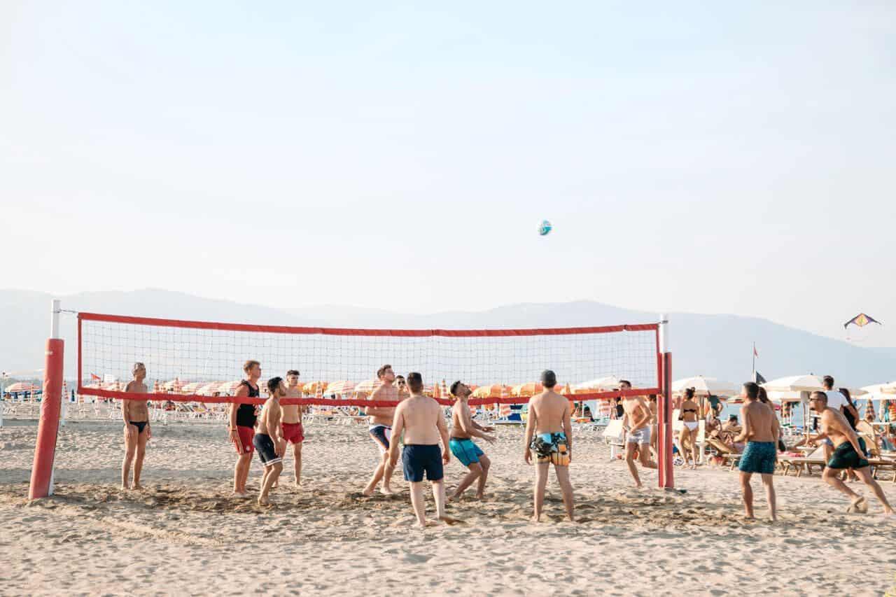 beach volley sibari