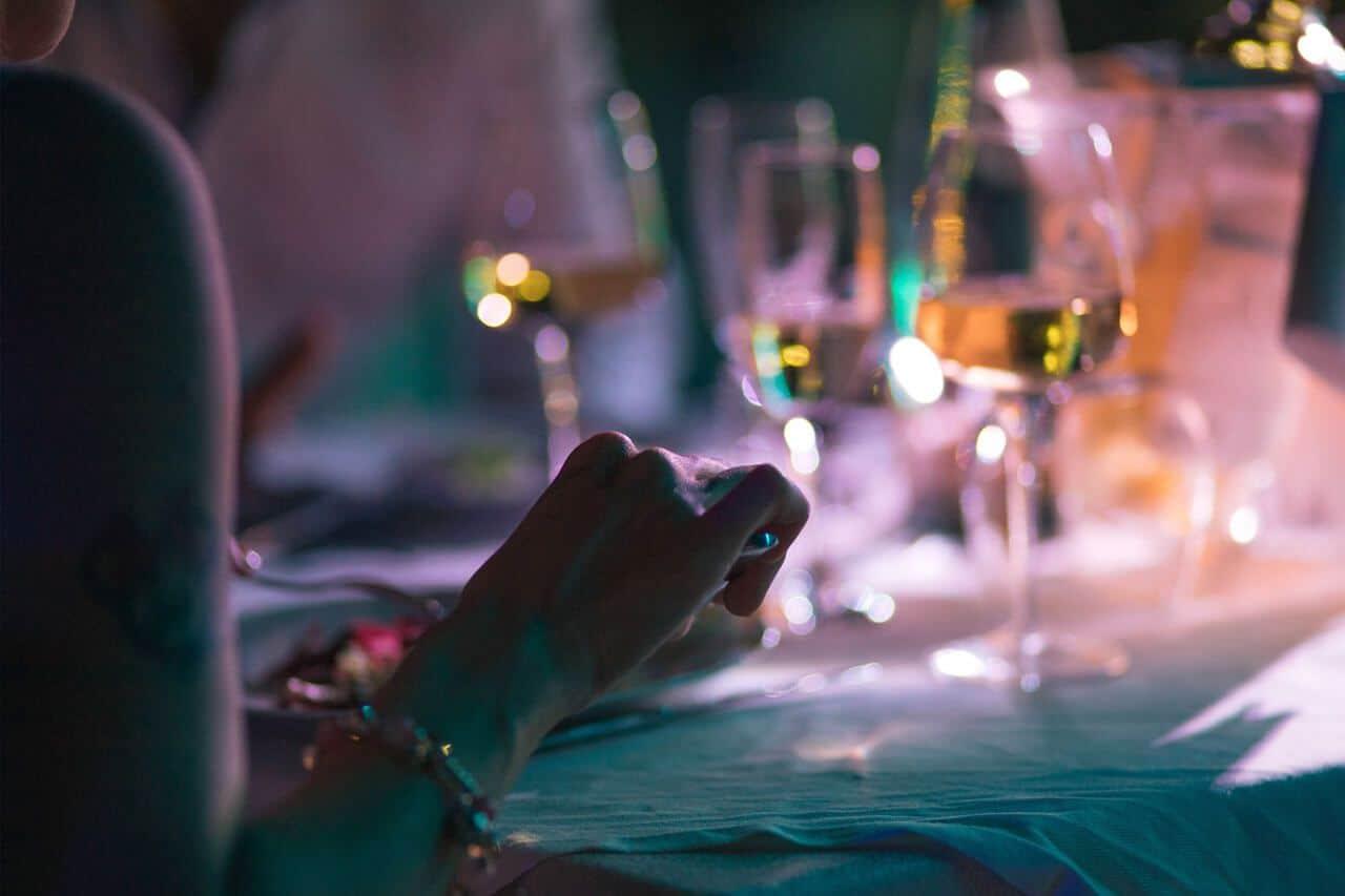 cena elegante ristorante sibari