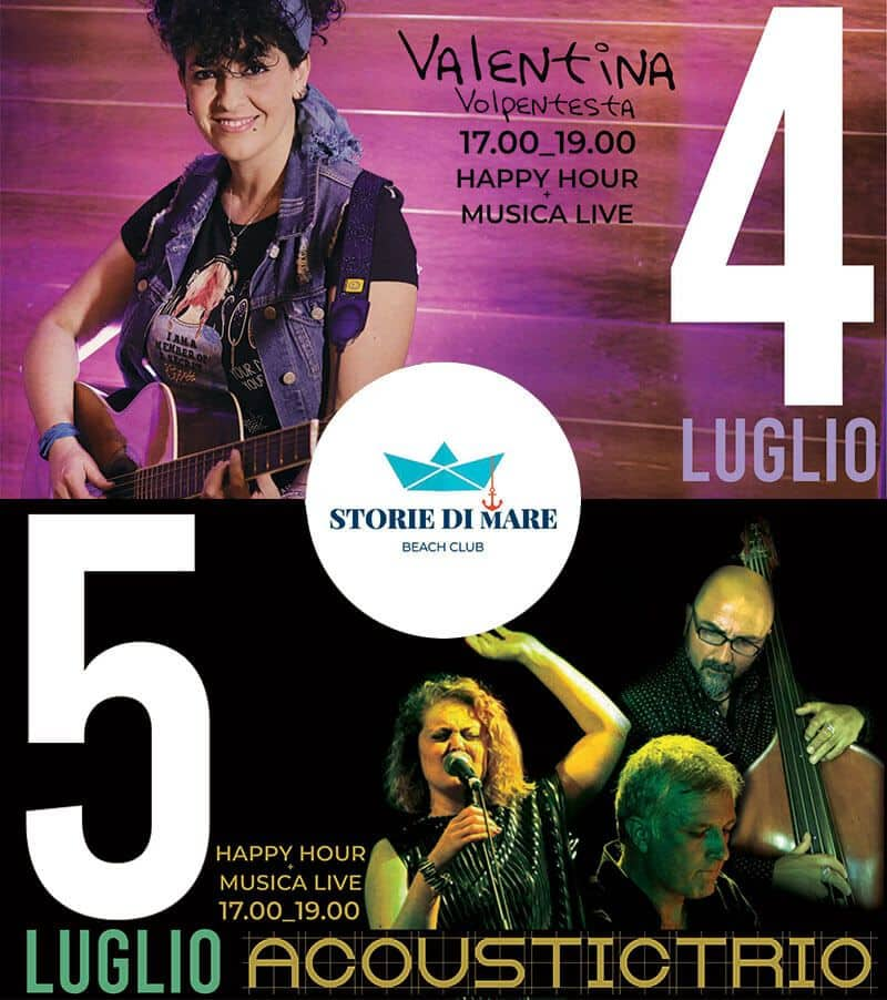 Musica dal vivo a Sibari - 4 e 5 Luglio 2020