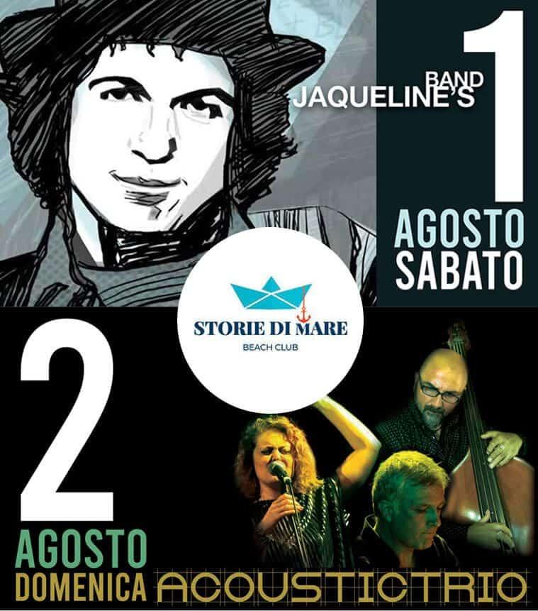 Eventi Sibari Musica dal vivo 1 e 2 Agosto 2020