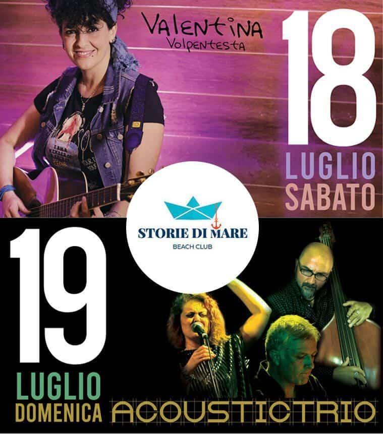 Eventi Sibari Musica dal vivo 18 e 19 Luglio 2020